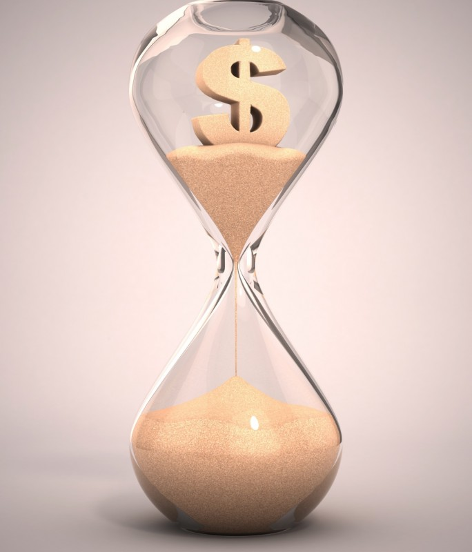Money Hourglass